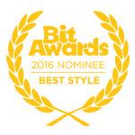 Bit Awards 2016 Nominee - Best Style